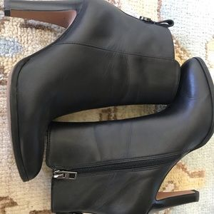 COACH Black Leather Boots - 6.5